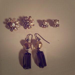 J Crew earrings!  Hardly worn!